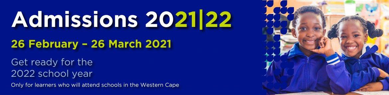 2022 Admissions T&Cs