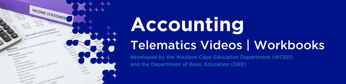 Revision DVDs (Telematics) - Accounting Grade12