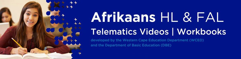 Revision DVDs (Telematics) - Afrikaans Grade 12