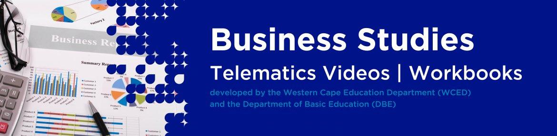 Revision DVDs (Telematics) - Business Studies Grade 12