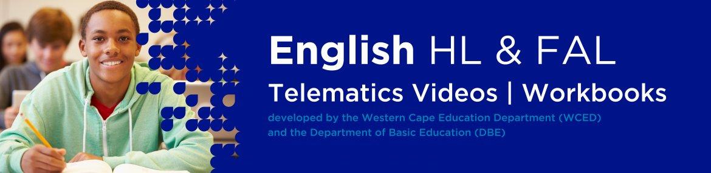 Revision DVDs (Telematics) - English Grade 12