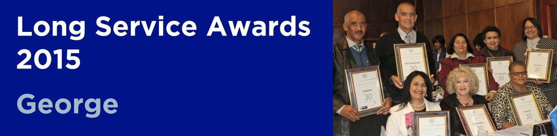 Long Service Awards 2015 - George