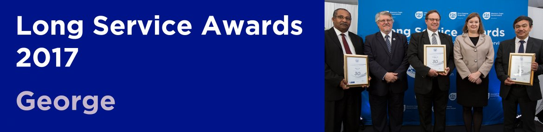 Long Service Awards 2017 - George