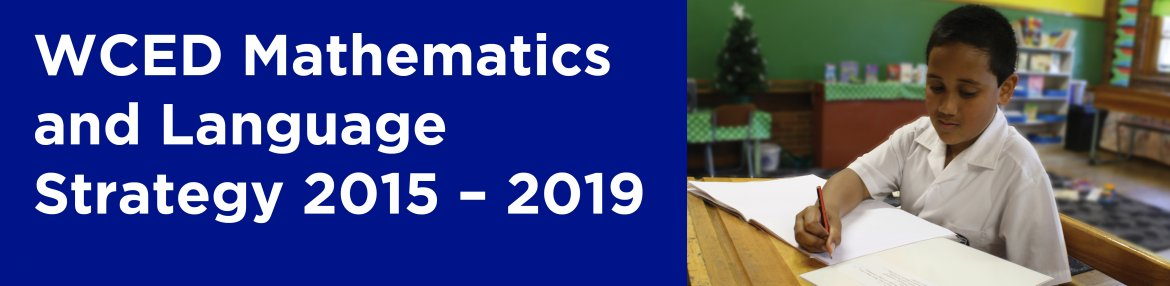 Mathematics and Language Strategy 2015 - 2019