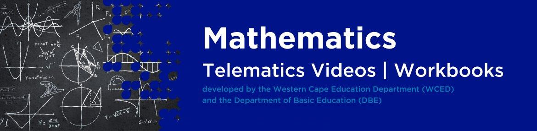 Revision DVDs (Telematics) - Mathematics Grade 12