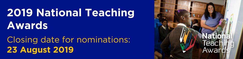 National Teaching Awards 2019