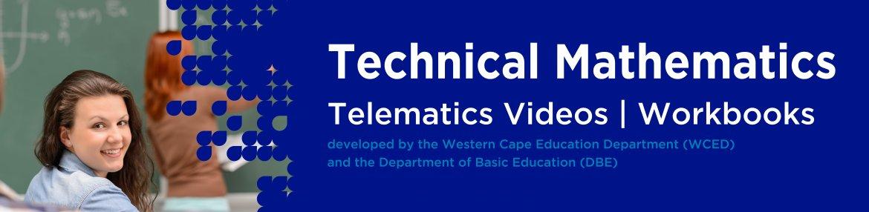 Revision DVDs (Telematics) - Technical Mathematics Grade 12