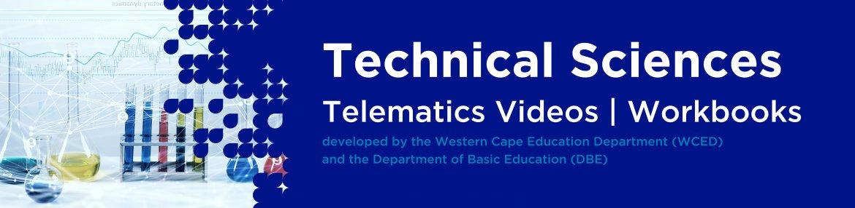 Revision DVDs (Telematics) - Technical Sciences Grade 12