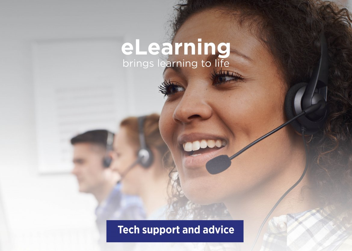 eLearning Tech Support and Advice