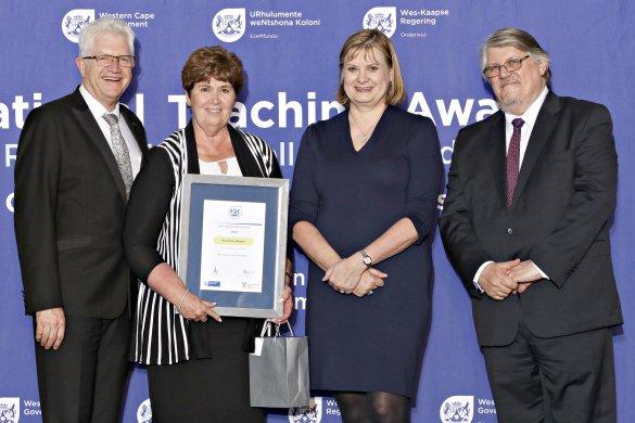 Global education leader wins provincial Kader Asmal Excellence Award