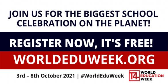 Register now for World Education Week!