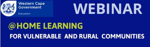 WCED hosts webinar on learning at home