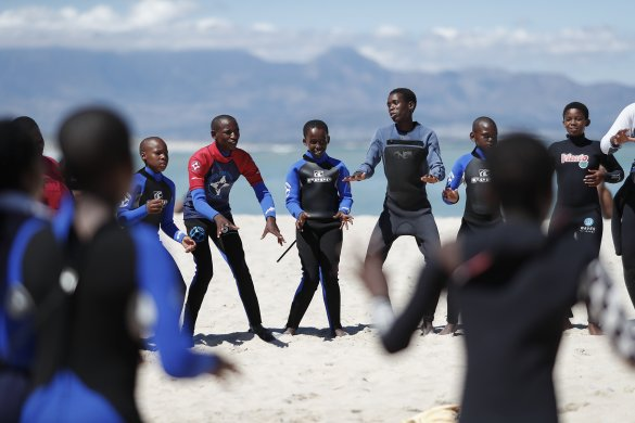 Surfing programme yields positive change for children with autism3