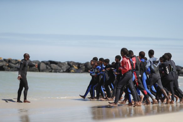 Surfing programme yields positive change for children with autism4