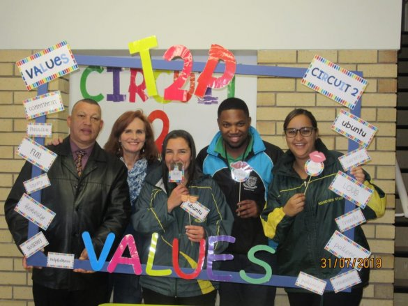 ECKED's T2P Team have Values conversation in style2
