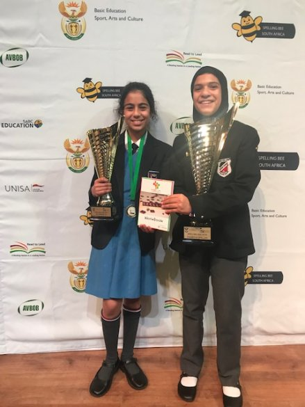 Western Cape learner crowned national spelling bee champion