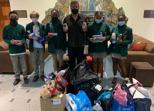 Camps Bay schools join forces with fire relief effort