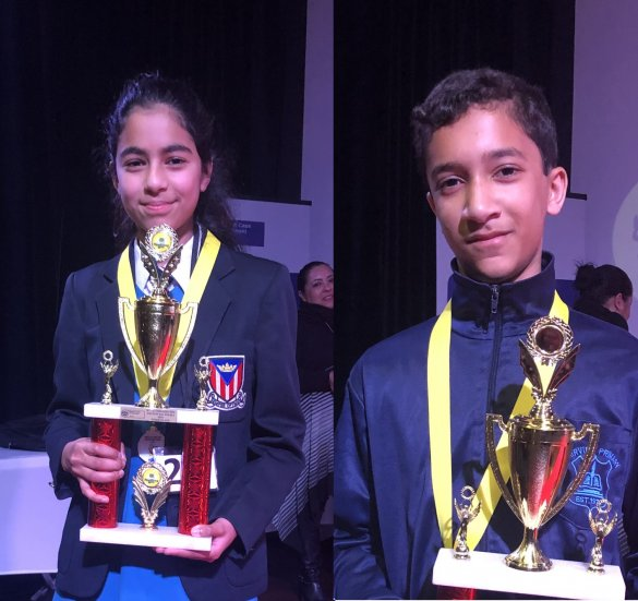 Learners show off their word skills at Provincial Spelling bee