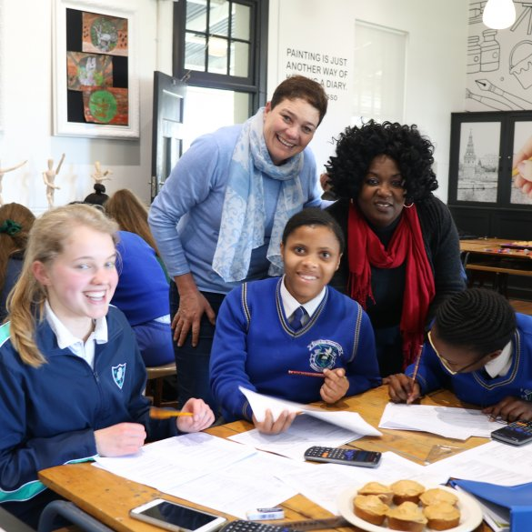 Partnership between Paarl schools pays off