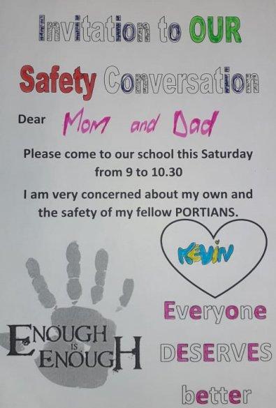 Portia Primary convenes safety conversation with parents