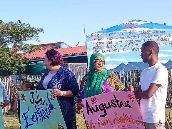 Bishop Lavis school mobilises community around values2
