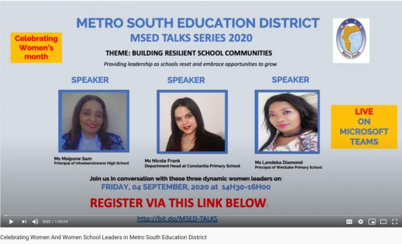 Building resilient school communities