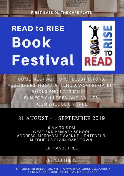 Read to Rise Book Festival at West End Primary