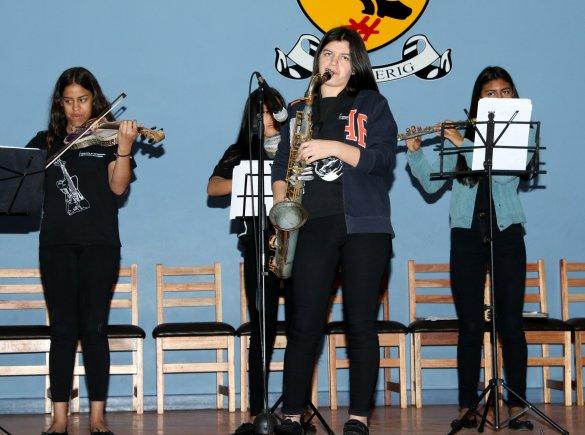 Cultural exchange at Tygersig Primary School