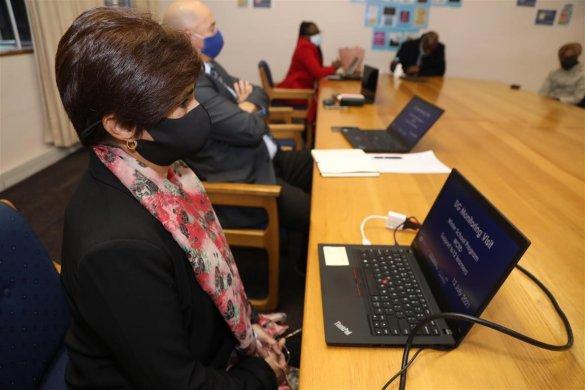Senior delegation visits Winter School Programme3
