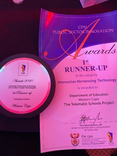 Telematic Schools Project wins award for innovation2