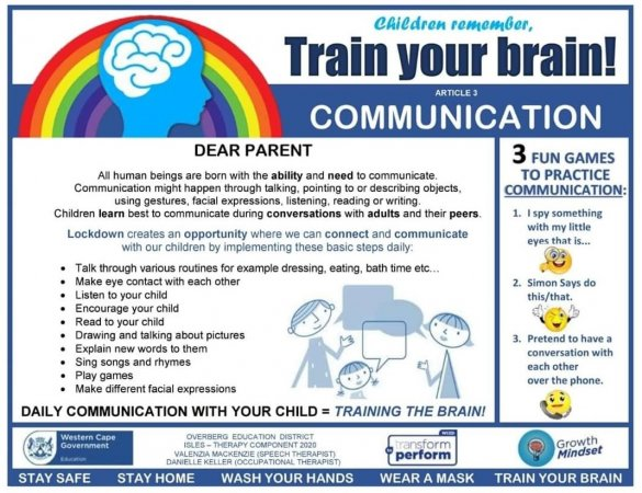 Train your child's brain series