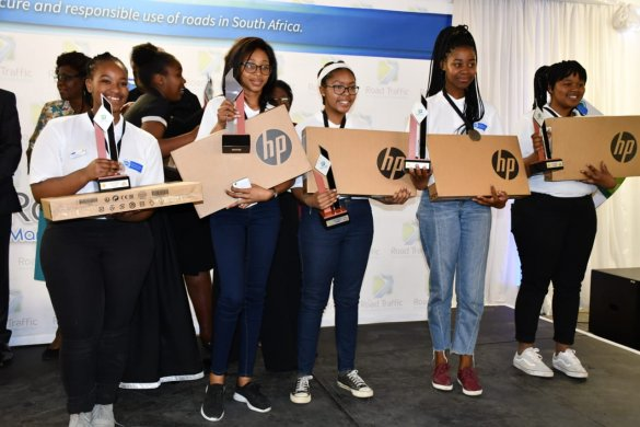 Western Cape road safety school teams shine on the national stage