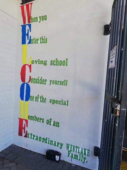 Westlake Primary School embraces values2