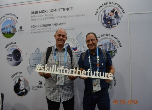 WCED representatives attend World Skills Conference and Competition in Russia