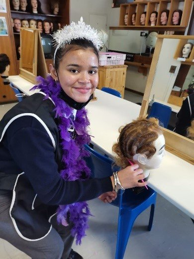 Learners show off their hairdressing skills at Artscape2