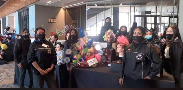 Learners show off their hairdressing skills at Artscape4
