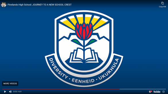 Pinelands High School unveils new school crest2