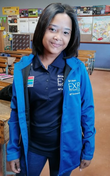 Spurwing Primary's young scientist represents SA at international competition