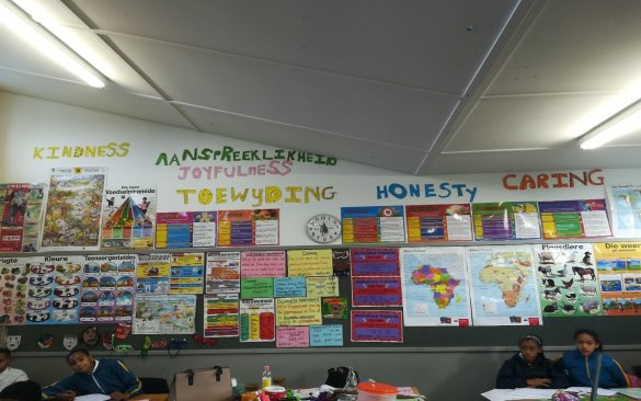 Voorspoed Primary School values