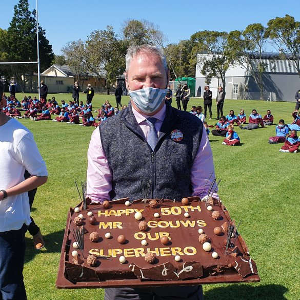 Table View Primary celebrates principal's birthday with Jerusalema Challenge