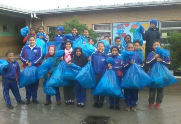 Mitchell's Plain school cleans up in inter-school competition