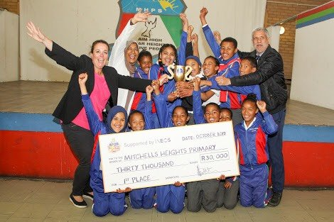 Mitchell's Plain school cleans up in inter-school competition2