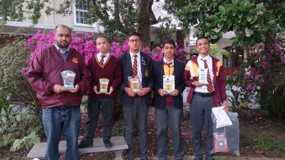 Life Sciences learners participate in provincial Online Quiz Competition3
