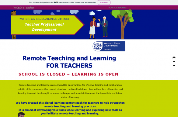 WCED makes it easier for teachers to collaborate