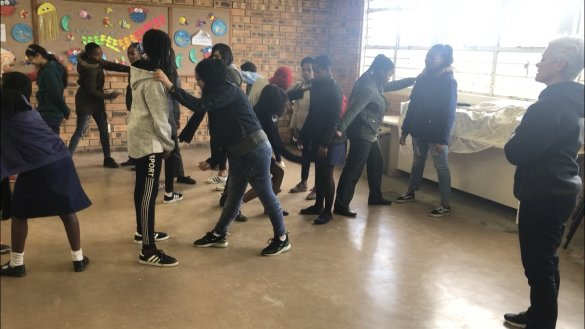 Equipping our learners in self defense2