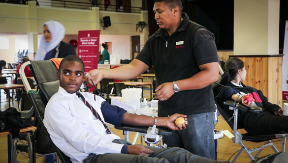 Western Cape's top ten blood donor schools for 2019