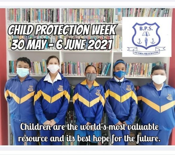 Learners share message of hope during Child Protection Week