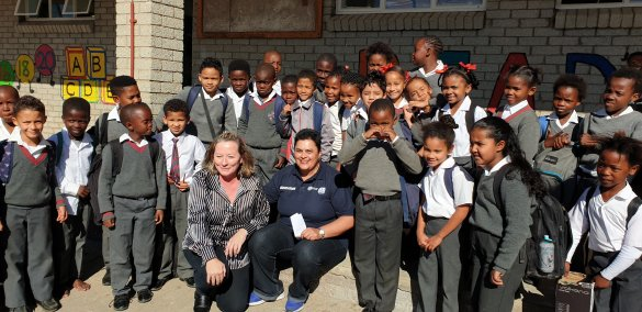 WCED staff spread cheer on Mandela Day2
