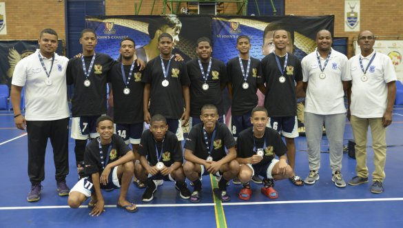 Heideveld Secondary's boys U15 basketball team in winning form
