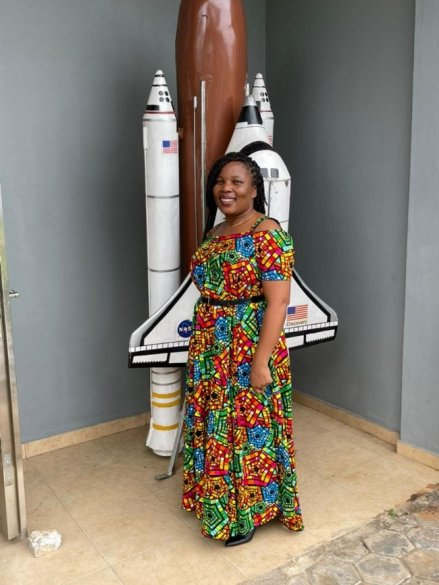 Teacher graduates from Centre for Space Science